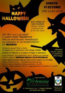 Volantino A5 Festa di Halloween