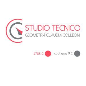 Logo per Studio Tecnico Geometra Claudia Colleoni