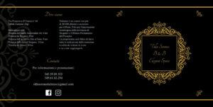 Depliant per Villa Serena B6B,, copertina