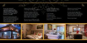 Depliant per Villa Serena B6B,, interno